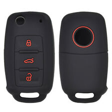 Silicone Key Case Cover For VW Golf Polo Passat Tiguan Jetta Bora Remote Fob