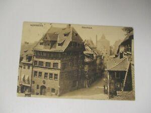 AK 1924 NÜRNBERG Dürerhaus