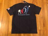 NWT Men's Vineyard Vines Slam Dunk Basketball Whale Pocket T-Shirt Size L, XL