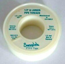Swagelok MS-STR-8 Fluron Raw Material Belt PTFE Thread Sealing Belt (L2020386)**