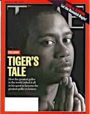 TIME Magazine 2000 AUGUST 14 Exclusive Tiger's Tale Bush vs Clinton