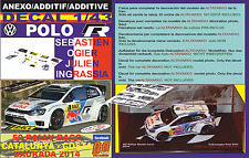 ANEXO DECAL 1/43 VOLKSWAGEN POLO R WRC J-M.LATVALA R R.CATALUNYA 2014 2nd (12)