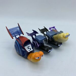 Dreamworks Turbo Snail Racers Toy Car Theo Figure #5 Talking Lights Up Lot 4