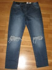 next boyfit crop ripped jeans size 14 petite leg 24 brand new with tags
