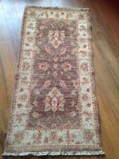 John Lewis Garous Super 100 Wool Handmade Oriental Runner Rug 123 X 60 Cm
