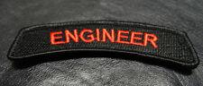 ENGINEER TAB 3.75 inch ACU TACTICAL TAB ROCKER MILITARY MORALE HOOK PATCH