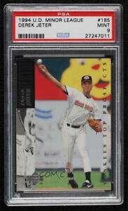 1994 Upper Deck Minor League Baseball Derek Jeter #185 PSA 9 MINT HOF
