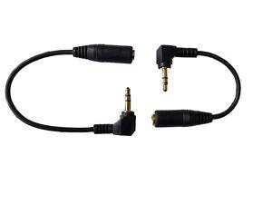 3.5 mm Socket Saver Lead. Stereo 3.5 mm plug to socket. 11 cm,