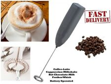 brand new MILK FROTHER IKEA Coffee Latte HotChocolate Whisk Frothy Blend Whisker