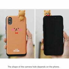 Smile Friends Card Slide Case for Samsung Galaxy Note9 Note8 Note5 Note4 Note3