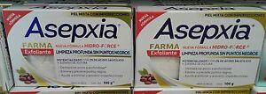 ASEPXIA FARMA EXFOLIANTE ( Exfoliant  Soap )- 2 JABONES de 100g - ENVIO GRATIS