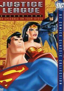 JUSTICE LEAGUE OF AMERICA: SEASON 1 (4PC) NEW DVD