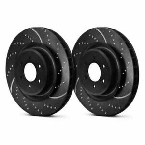 EBC GD1386 - 3GD Series Dimpled and Slotted Sport Front Rotors