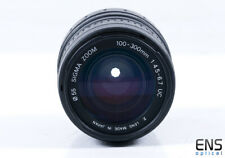 Sigma 100-300mm f4.5-6.7 UC Zoom Lens - Nikon AIS FIt - 1080574 - JAPAN *READ*