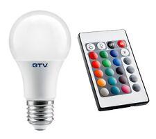 SMART 8W RGB cambia colore +3000K Telecomando Bianco E27 LED Lampadina 540lm