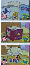 Family Guy Season 1 Complete Boxloader Chase Card Set BL1-3