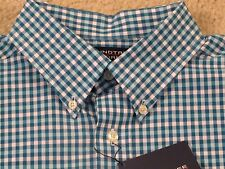 $50 ROUNDTREE & YORKE DRESS/CASUAL SILKY FINISH COLLECTION SHIRT - LARGE - NWT