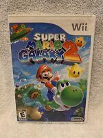 Super Mario Galaxy 2 Case (Nintendo Wii, 2010) - NO GAME, FREE SHIPPING!