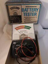 Vtg Micronta Battery Tester with Original Box 22-030A Consumer Electronics