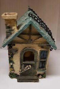 Polyresin Small Birdhouse by Regent Sun