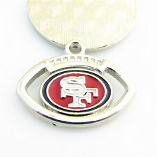 10pcs NFL Sports San Francisco 49ers Dangle Charms Hanging Pendant DIY Bracelet