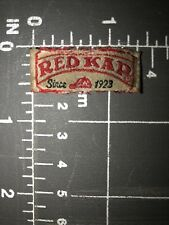 Red Kap Workwear Uniforms Work Clothing Apparel Logo Patch Tag Labor Since 1923
