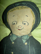 Very RARE antique, printed cloth GRACE DRAYTON doll by Georgene Averill Hendren