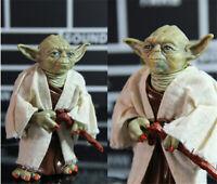 Star Wars The Force Awakens Jedi Master Yoda PVC Action Figure Toy 13cm