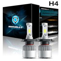 HI/LO H4 LED Hauptscheinwerfer 72W Glühbirne für Suzuki Swift Vitara Jimny 6000K