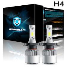 72W H4 9003 LED Scheinwerfer Birnen Headlight Hi/Lo Strahl Leuchte Lampen 6000K