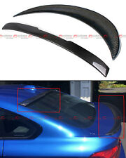 FOR 2014-18 BMW F36 4 SERIES GRAN COUPE CARBON FIBER REAR WINDOW + TRUNK SPOILER