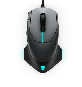 Alienware Gaming Mouse Wired 16000 DPI Optical Tracking RGB AW510M