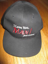 "Vintage BUDWEISER Beer ""I Love You, MAN!"" BUD LIGHT (Adjustable Snap Back) Cap"