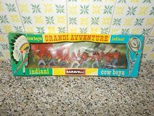 BARAVELLI ART.50323 SERIE GRANDI AVVENTURE INDIANI SCATOLA(BOX) E DIORAMA NUOVI
