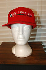 Dodge Hat Signed By Richard &Kyle Petty Sterling Marlin Ray Everham Jerry Nadeau