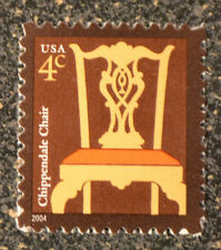 2004Usa #3755 4c Chippendale Chair Mint Nh Vf