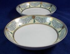 Muirfield PROSCENIUM 2 Coupe Soup Bowls 9106 GREAT CONDITON