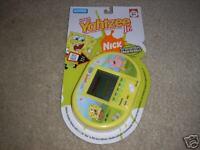 New SpongeBob Squarepants Yahtzee Jr. Handheld Game