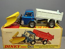 DINKY TOYS MODEL  No.439 FORD D800 SNOW PLOUGH  MIB
