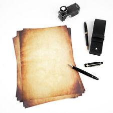 Briefpapier DIN A4, Vintage, Casanova, Absofine, Mittelalterliches Briefpapier