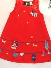 MICHAEL SIMON dress 4th of July patriotic America sz 4 red