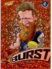 2016 AFL Footy Stars Starburst Caricature Trading Card SB12 Zach Tuohy(Carlton)