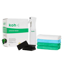 KOH 4l Universal Cleaner / Atomiser / 4 microfibre clothes / 4 diamond sponges
