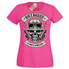 Bikerhood Ultimate spark plug T-Shirt Womens Ladies
