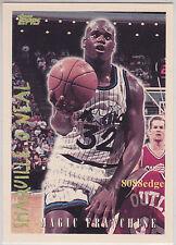 "1994-95 TOPPS FRANCHISE/FUTURE: SHAQUILLE ""SHAQ"" O'NEAL #17 ORLANDO MAGIC MVP"