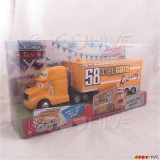 Disney Pixar Cars Octane Gain No. 58 hauler semi truck and trailer worn package