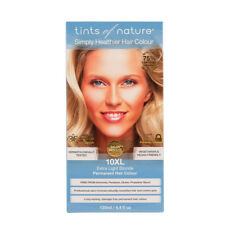 TINTS OF NATURE Extra Light Blonde 10XL Permanent Hair Colour 130ml Ammonia Free