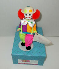 "New Listing1991 Madame Alexander 8"" Doll ""Bo Bo Clown"" #310 in Box with Stand"
