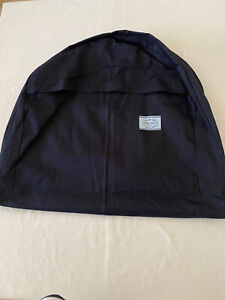 "PRADA Dark Blue Fabric Suit Dress Jacket Garment Bag Hx47"" Dx6"" Lx23"""