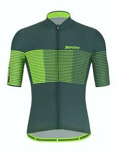 NEW SRP £55 Green Santini Fine Cycling Vest